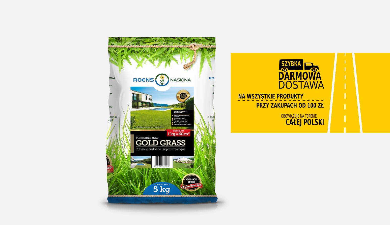 Gold Grass mieszanka traw